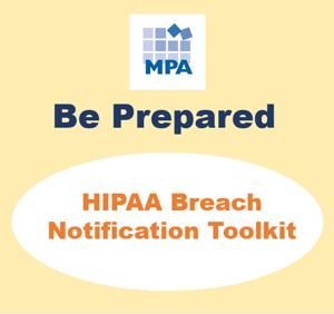 HIPAA Breach notification toolkit snip