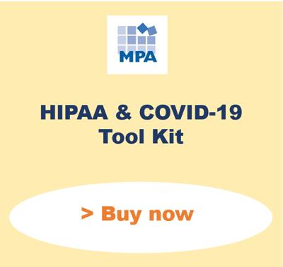 HIPAA Covid toolkit snip