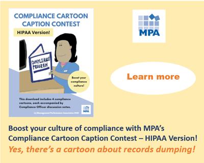 HIPAA cartoon records dumping