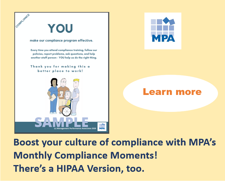Hubspot snip Monthly compliance moments