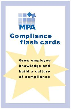 compliance flash cards sample 1