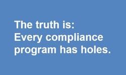 every compliance program has holes