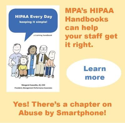hipaa handbooks abuse by smartphone snip