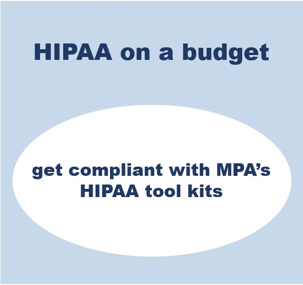 hipaa on a budget snip