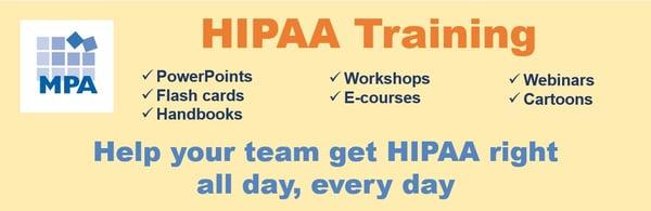 hipaa training snip august 2019