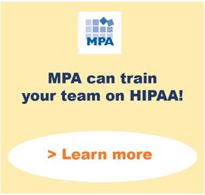 hipaa training snip