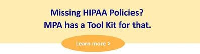 missing hipaa policies snip
