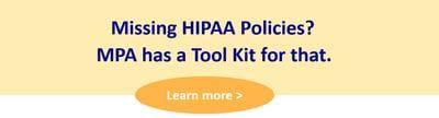 missing hipaa policies snip