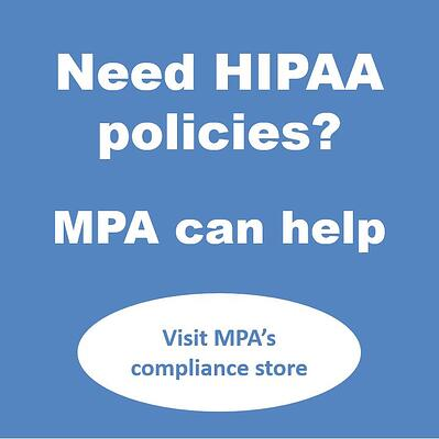 need hipaa policies.
