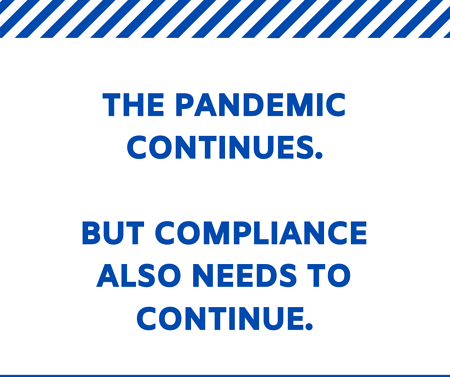 pandemic continues
